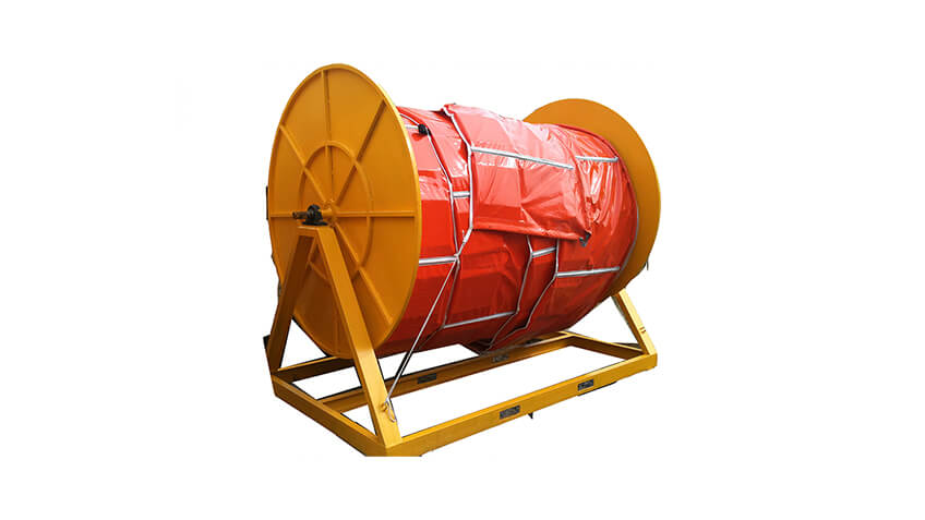 Manual Oil Boom Storage Reels Photo 1